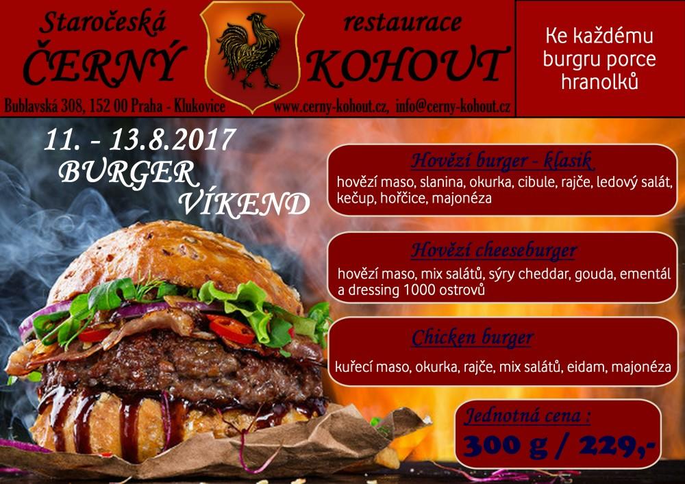 11.-13.8.2017 Burger víkend