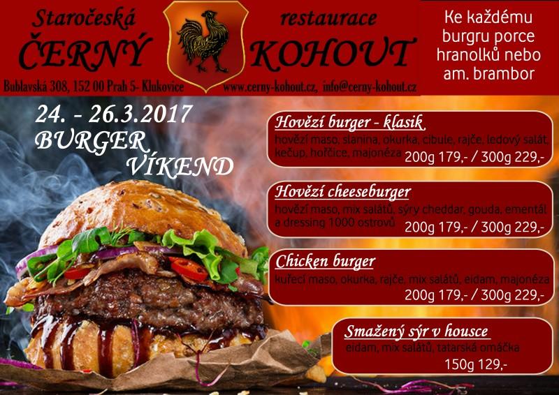 Burger víkend menší kvalita