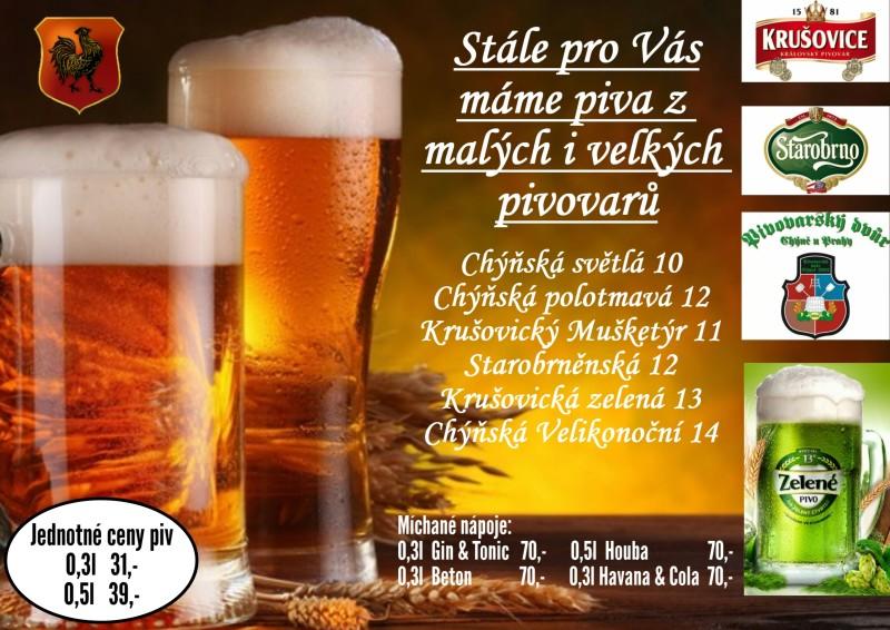 Doprodej piv