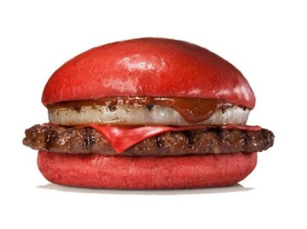 Růřový burger