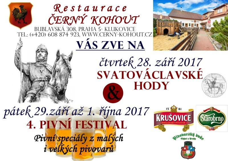 Svatý václav a festival- návrh